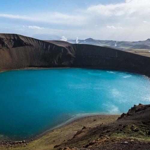Krafla Crater, Iceland